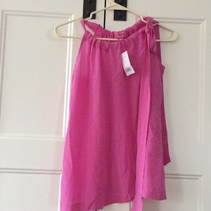 Banana Republic Top - Bright Pink - Size 8